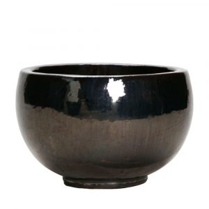 Bowl Metal Glaze